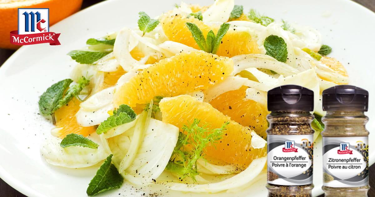 Pikant würzen – mit Zitronen- oder Orangenpfeffer von McCormick