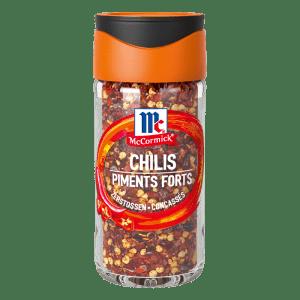 Chilies, zerstossen