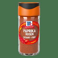 Paprika Rosen, scharf