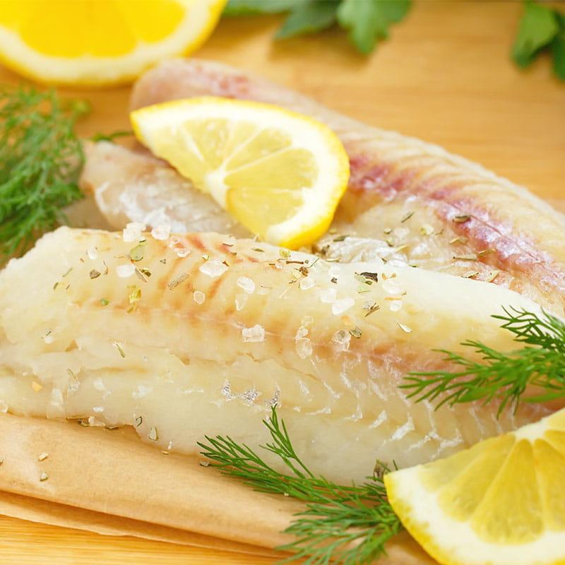 Beignets de filets de poisson au cerfeuil