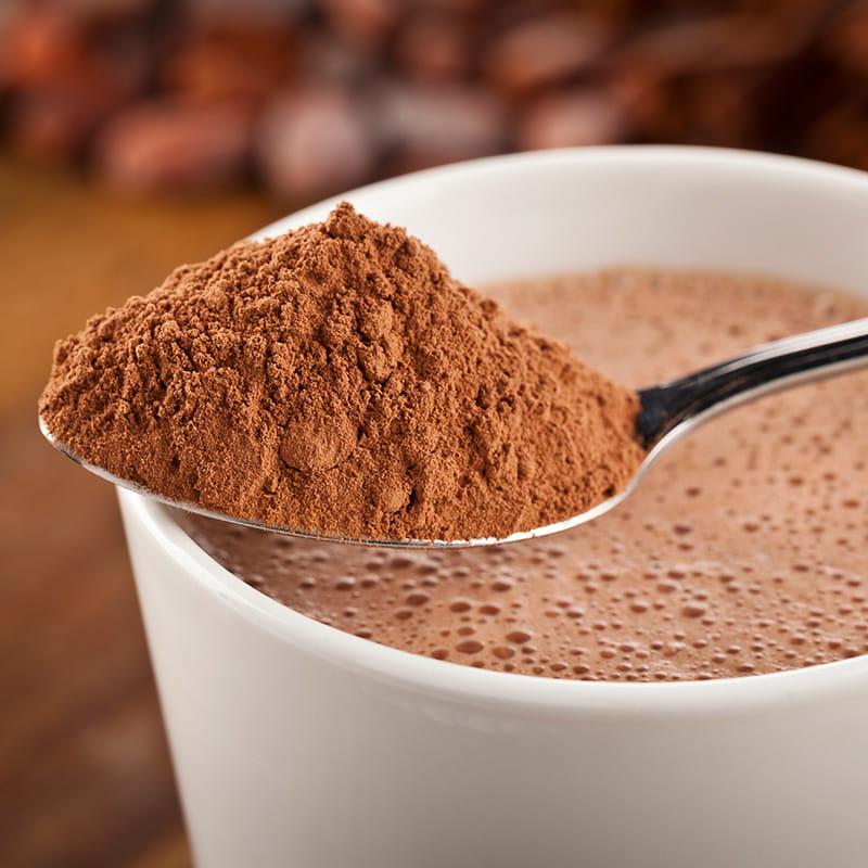Heisse Schokolade mit Pepp