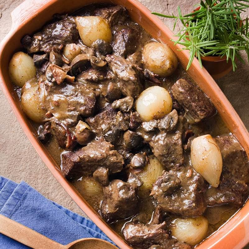 Mijoté de bœuf aux aromates
