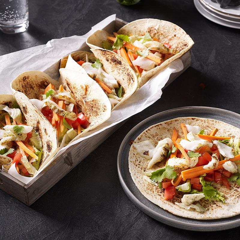 BBQ Fisch Tacos