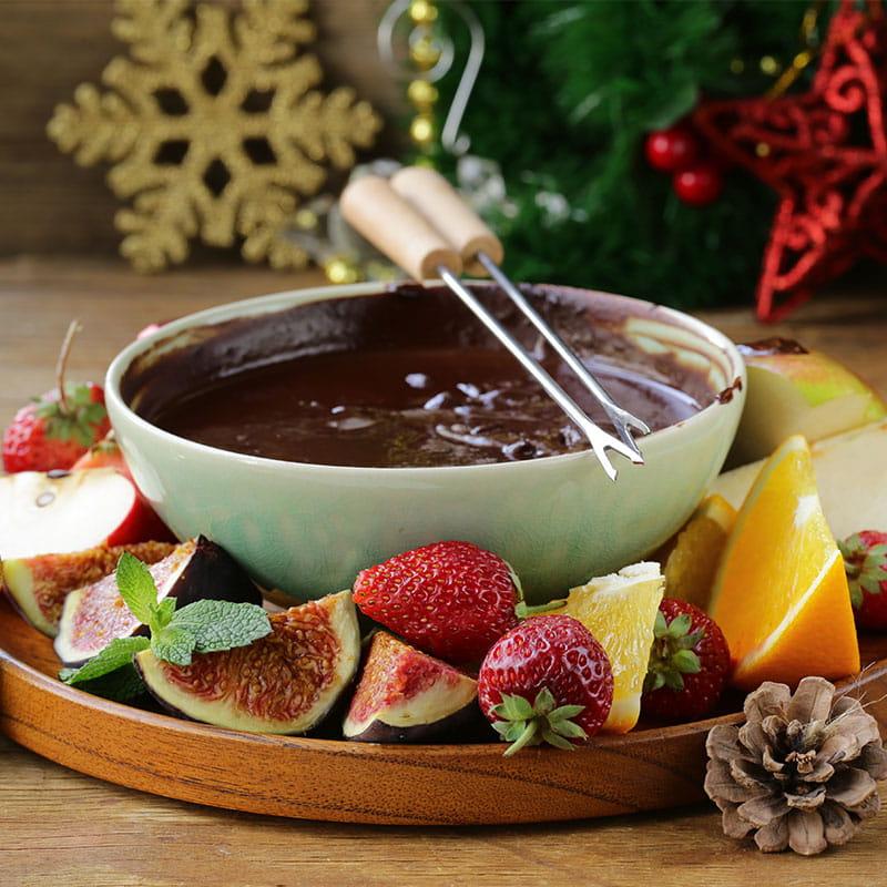 Schokoladen-Fondue