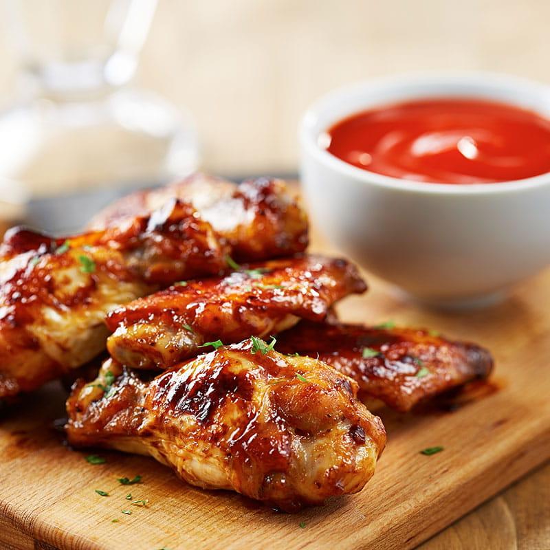 Juicy BBQ Chicken Wings
