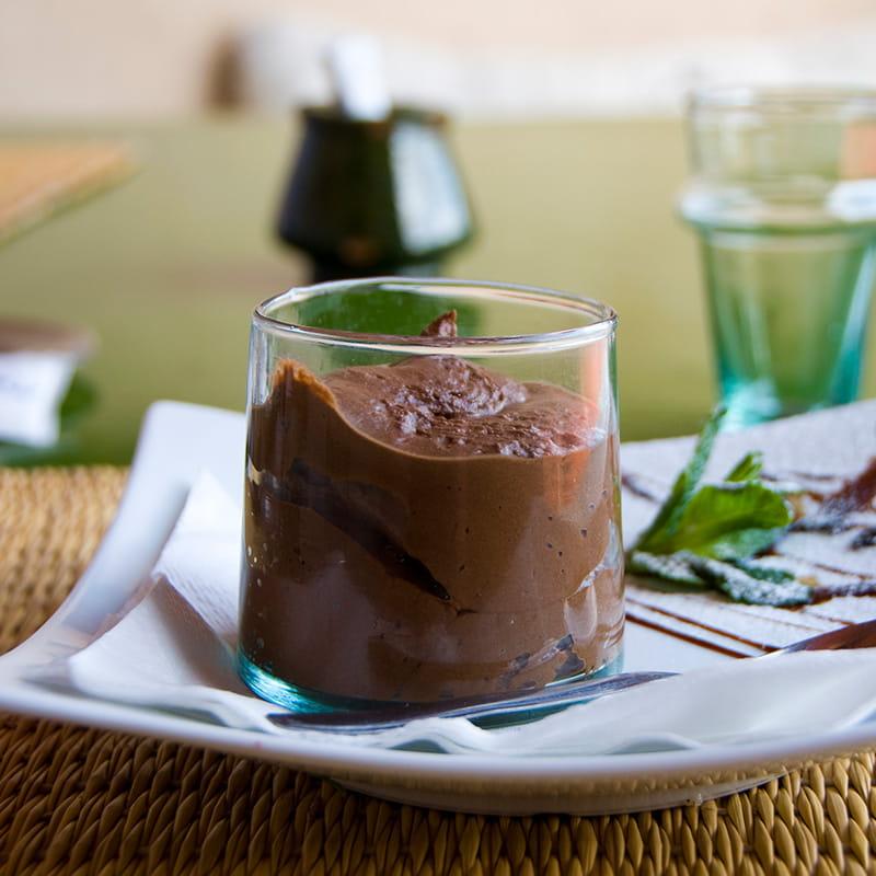 Mousse au Chocolat mit raffinierter Gewürznote