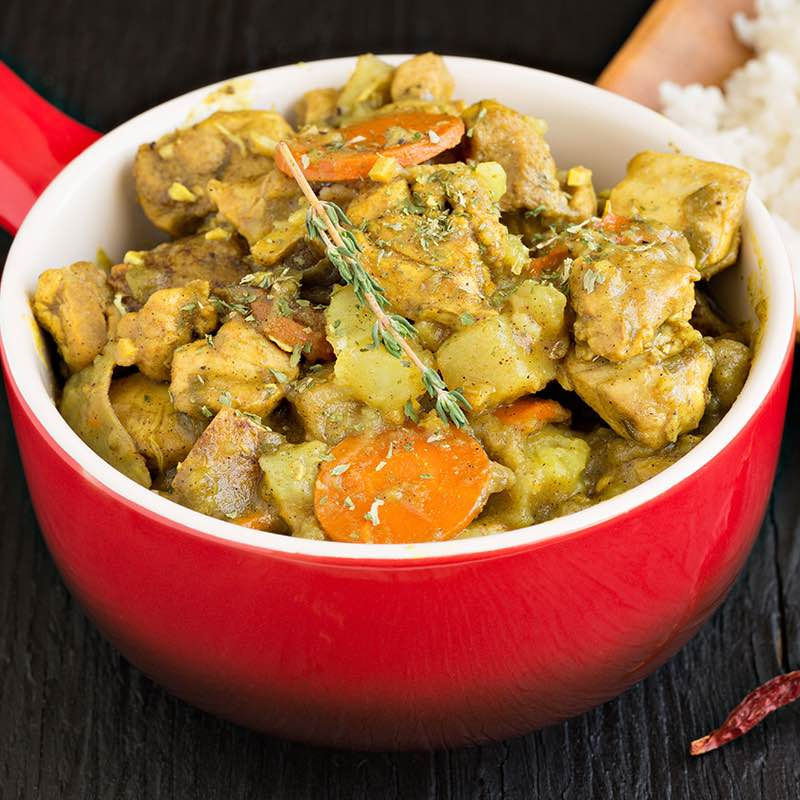 Pouletgeschnetzeltes mit Curry