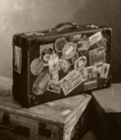 It started with a suitcase