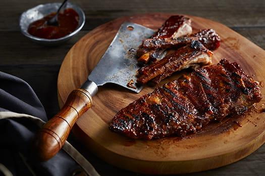 Sticky Texas Pork Ribs