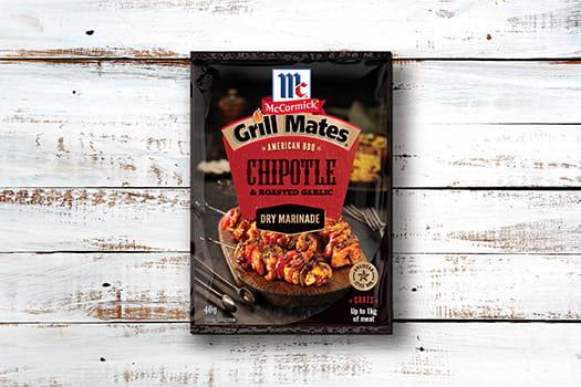 McCormick Grill Mates Chipotle & Roasted Garlic Dry Marinade