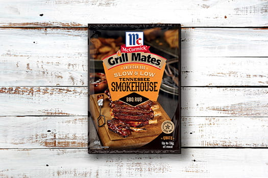 McCormick Grill Mates Tennessee Smokehouse Slow & Low BBQ Rub