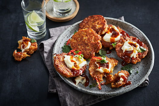 Chipotle Cauliflower Fritters