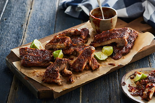 Sweet Pepper Lime Chilli Ribs
