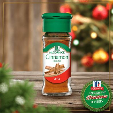 Christmas creations with McCormick Cinnamon