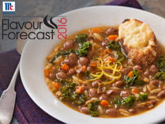 Cranberry Bean, Sage and Orzo Soup