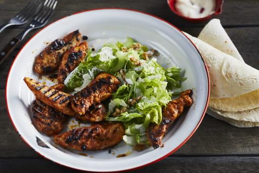 Buttermilk & Chipotle Chicken Strip Wraps