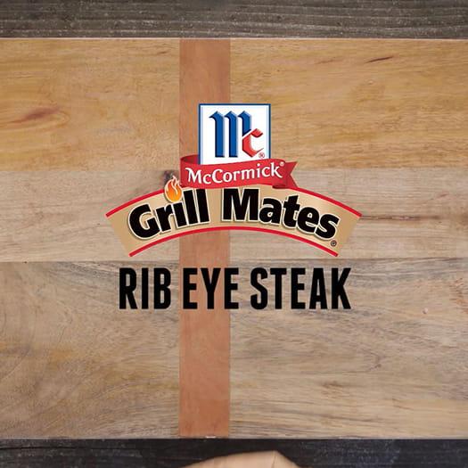 Prepare Juicy Rib Eye Steak. Watch here.