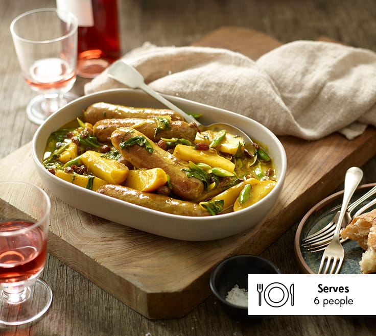 Curried_Sausages