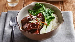 Sweet Soy and Sesame Beef Slow Cooker
