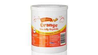 Lite Orange Jelly Crystals