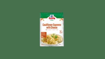 McCormick Cauliflower Supreme with Cheese Recipe Base