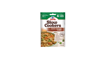 McCormick Slow Cookers Satay Chicken Curry