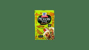 McCormick Mexican Street Food