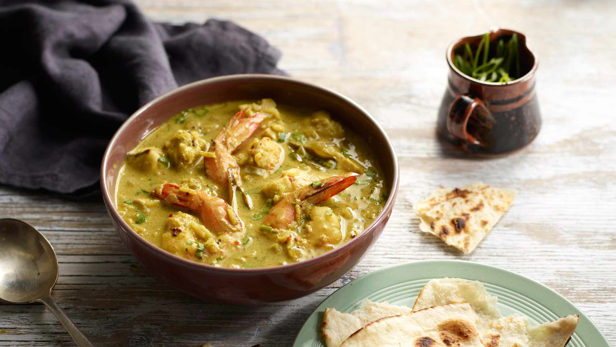 Curried Coconut Rice Fish Soup Mccormick Australia