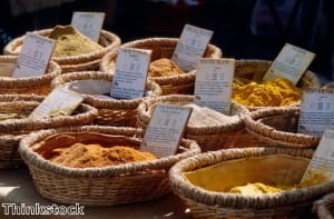Many spices contain anti oxidants