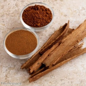 Cinnamon is useful in desserts as well as curries