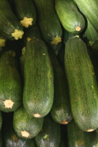 Courgettes bring out herb flavours