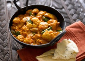 Curries do not have to contain meat