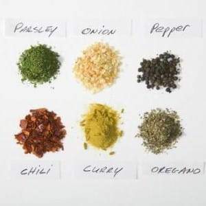Add a variety of herbs to any dish