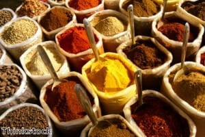 Using different spices can help to add variety to your dishes