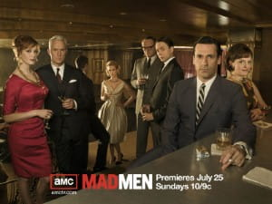 Mad Men could be a valid sauce of inspiration for chefs