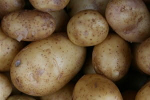 Potatoes can be stuffed with extra ingredients partway through baking
