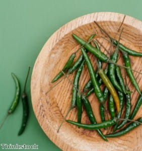 Chillies are great in Oriental dishes