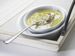 Soup is a classic starter