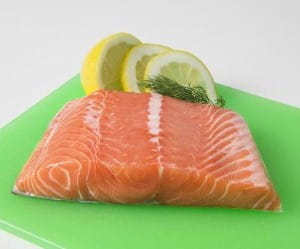 Dill is great with salmon