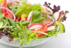 Herbs can get kids into salads advises Jamie Oliver