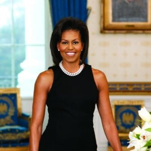 Michelle Obama has shared a salad recipe