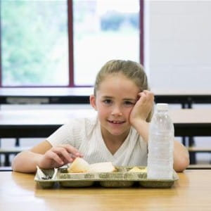 Demand for school dinners is on the increase