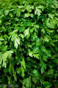 Freezing herbs can help them keep their flavours