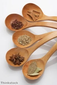Spices are a key part of the recipe