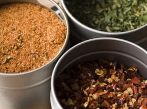 Spices may be an alternative to salt