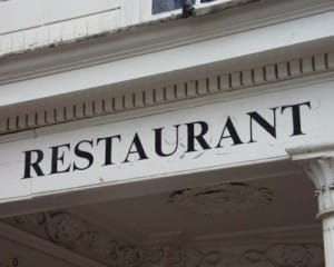 The new restaurant is located in central London