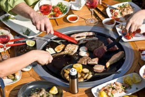 The Vegetarian Society recommends trying meat free BBQ recipes