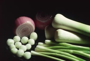 Red onions have a natural sweetness