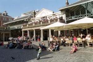 Covent Garden remains the most popular spot for diners
