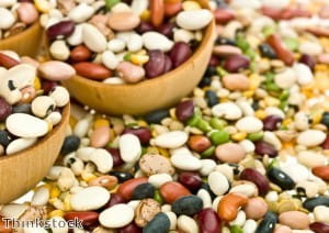Flavour a bean salad with parsley